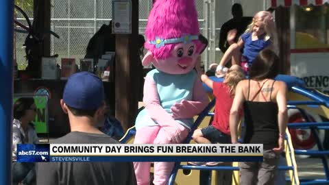 Stevensville event celebrates Community Fun Day